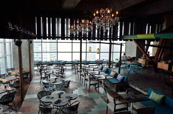 Skye - Jakarta .. One of the best view restaurant in Jakarta