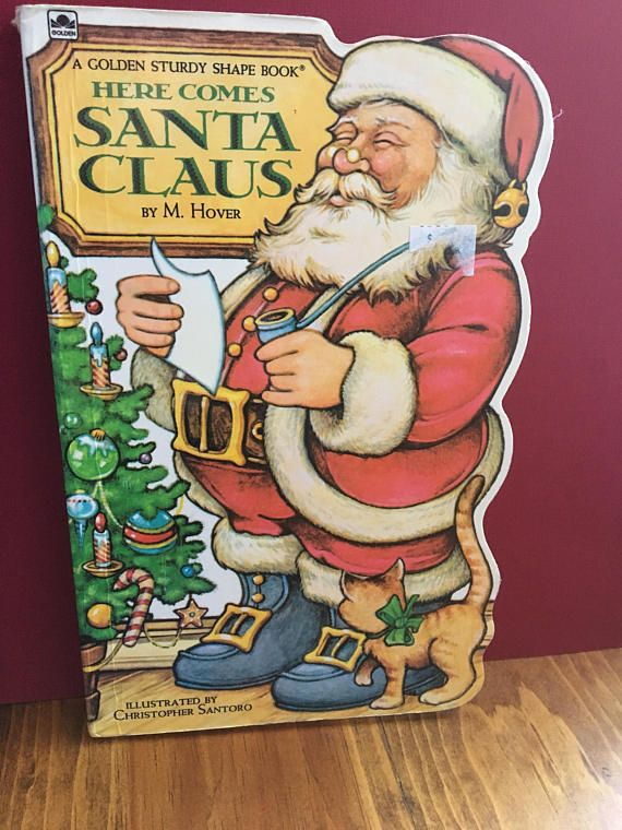 Here Comes Santa Claus by M. Hover and Santoro Golden Sturdy