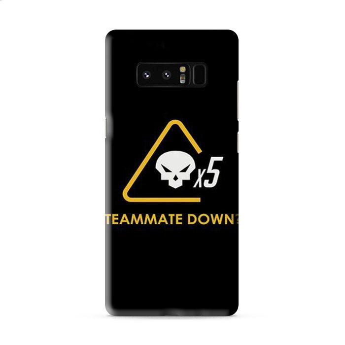 Teammate Down X5 Samsung Galaxy Note 8 3D Case Caseperson