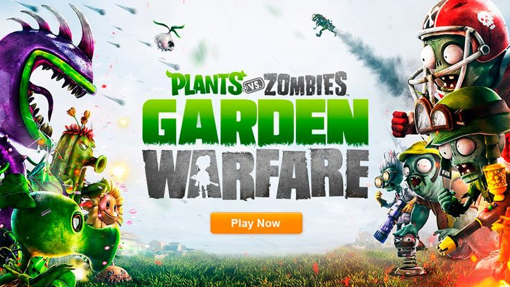 Plants vs Zombies Garden Warfare llega para competir con Call of Duty y Battlefield / Evolución (¿?) del famoso videojuego Plantas vs Zombies