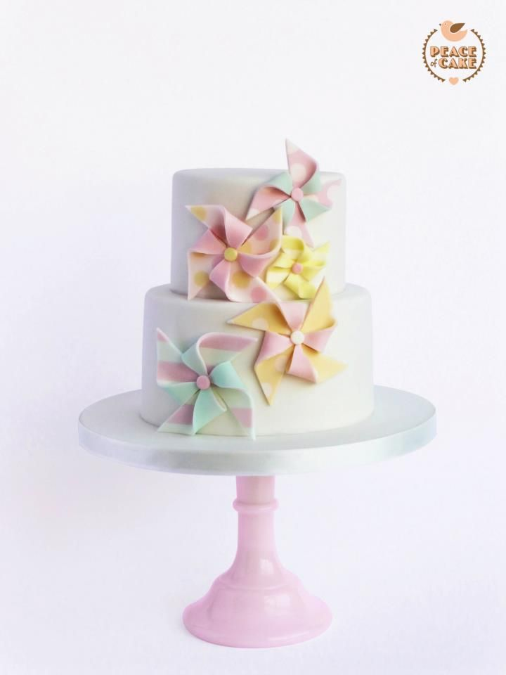 Pinwheel Cake by Peace of Cake