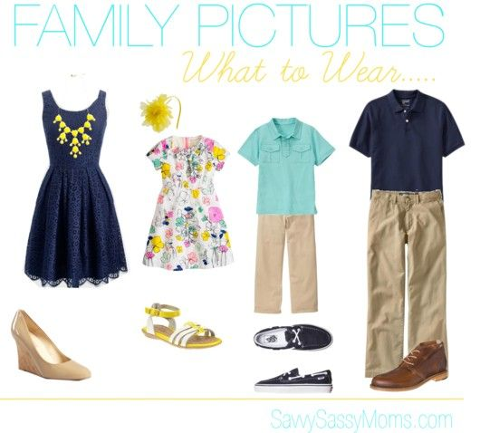 Pics For Spring Family Photo Clothing Ideas