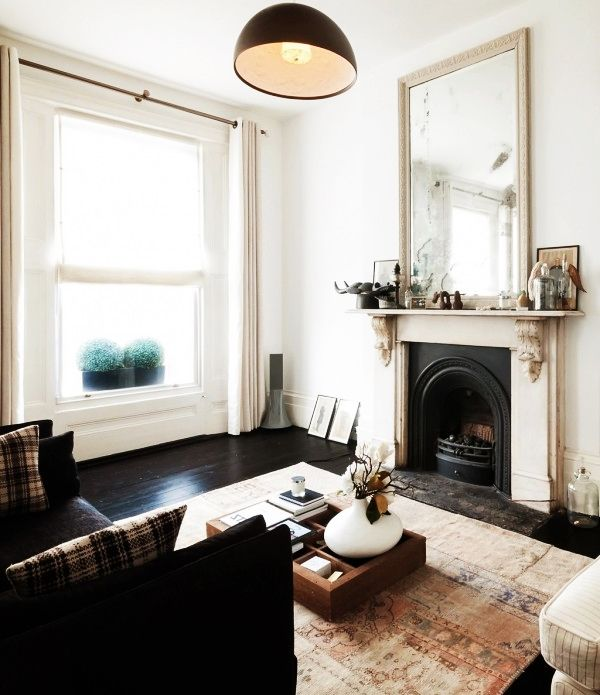 Apartment Modern Victorian Living Room Design Dining With Black Colored Sofa And Light Brown Shelf Table Minimalist Decorating Ideas