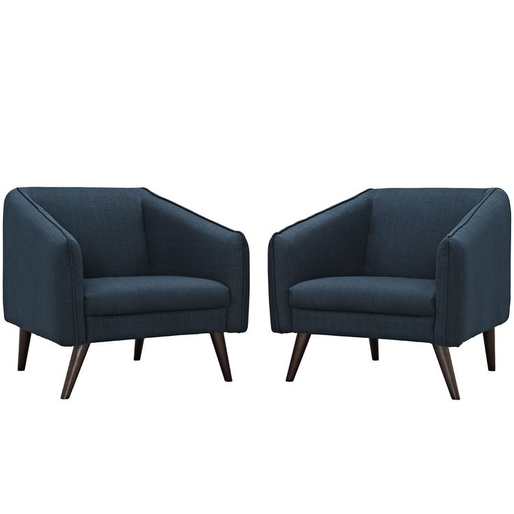 Slide Contemporary Armchairs Set of 2