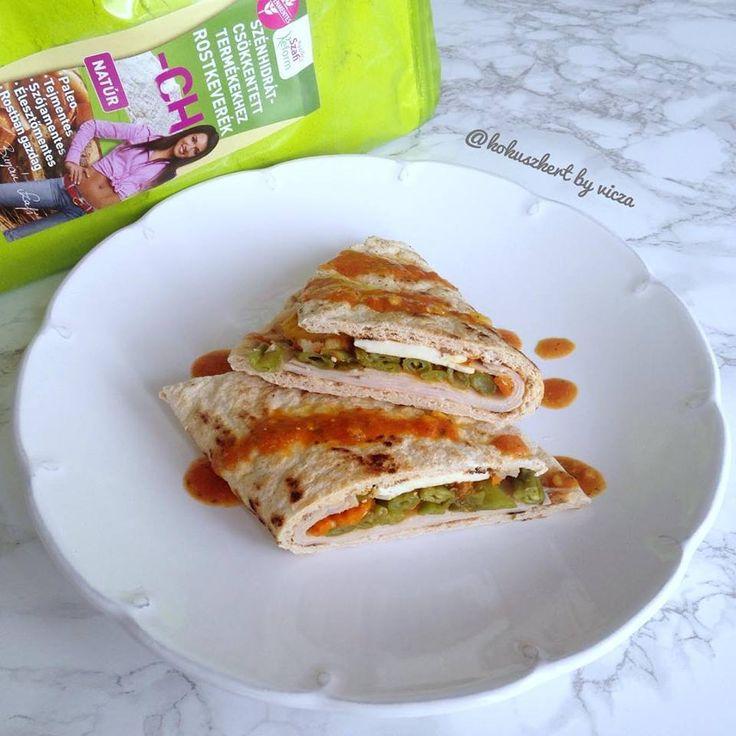 Éhezésmentes karcsúság Szafival - Gluténmentes paleo tortilla