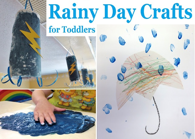 Princesses, Pies, & Preschool Pizzazz: Rainy Day Crafts for Toddlers