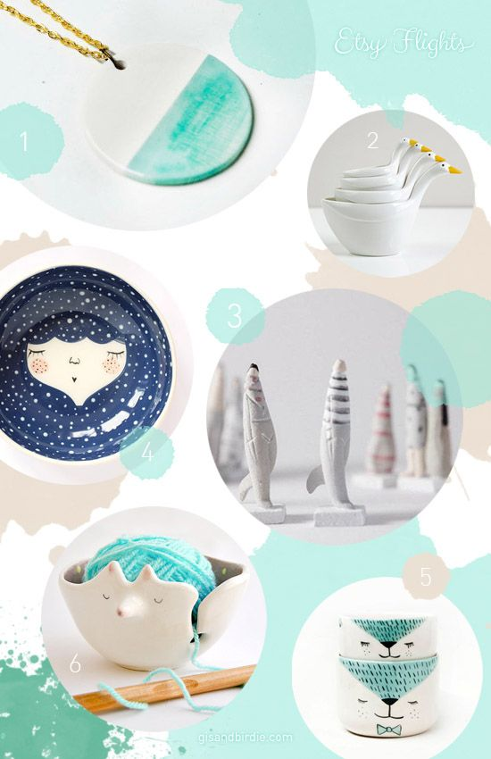 Pottery shopping in Etsy! So many beautiful things! #Etsy #EtsyFlights #Shopping #Gifts