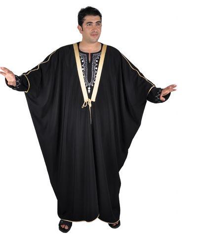 Islamische Kleidung Männer, Umhang Araber Scheich Kostüm Scheichkostüm, Lange Kleider Für Männer, Grundlegende Bestandteile Der Kaftan, Fühlt Sich Die Hitze Nicht