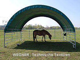 Landwirtschaft und Weidetiere mobiler Unterstand   Weidezelt von wegner24.eu