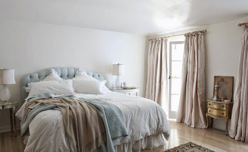 shabby chic bedroom designs by Rachel Ashwell