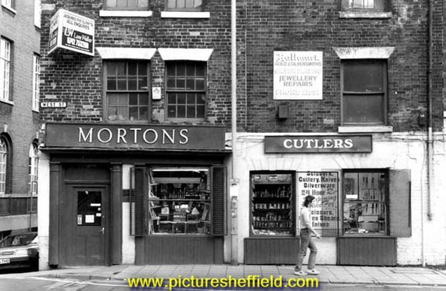 Mortons cutlers, No. 100 West Street