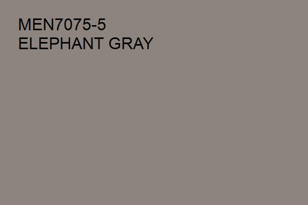 Elephant Gray MEN7075-5, a Brown hue from the Pittsburgh Paints and Stains® paint color palette available at Menards