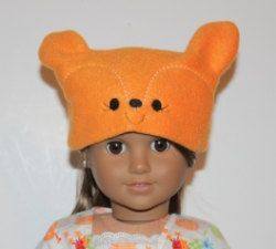 18 inch Doll Hat Embroidery Machine Design for by SewingForSarah