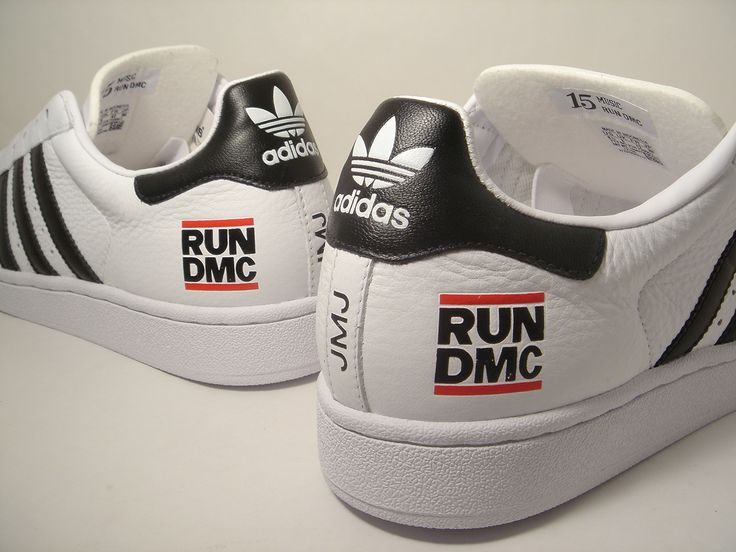 Limited Edition Run DMC Addidas sneakers. Only 5000 of them were available.