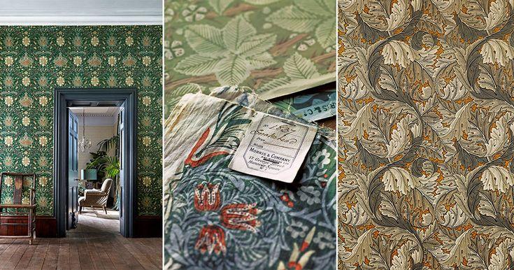 Ο William Morris εγκαινιάζει νέα συλλογή - με υπέροχα σχέδια από το αρχείο ELLE Διακόσμηση