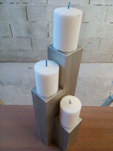 Suporte 3 velas