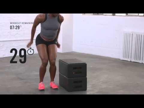 ▶ Shelly Ann Fraser Pryce s 15 min Intense Interval Workout - YouTube