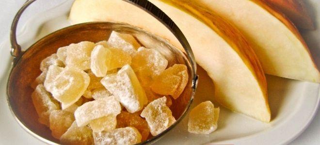 цукаты из дыни в домашних условиях