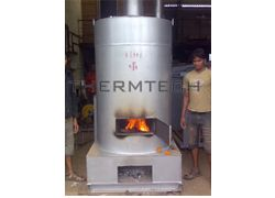 Wood or Coal Direct Fired Hot Air Generator