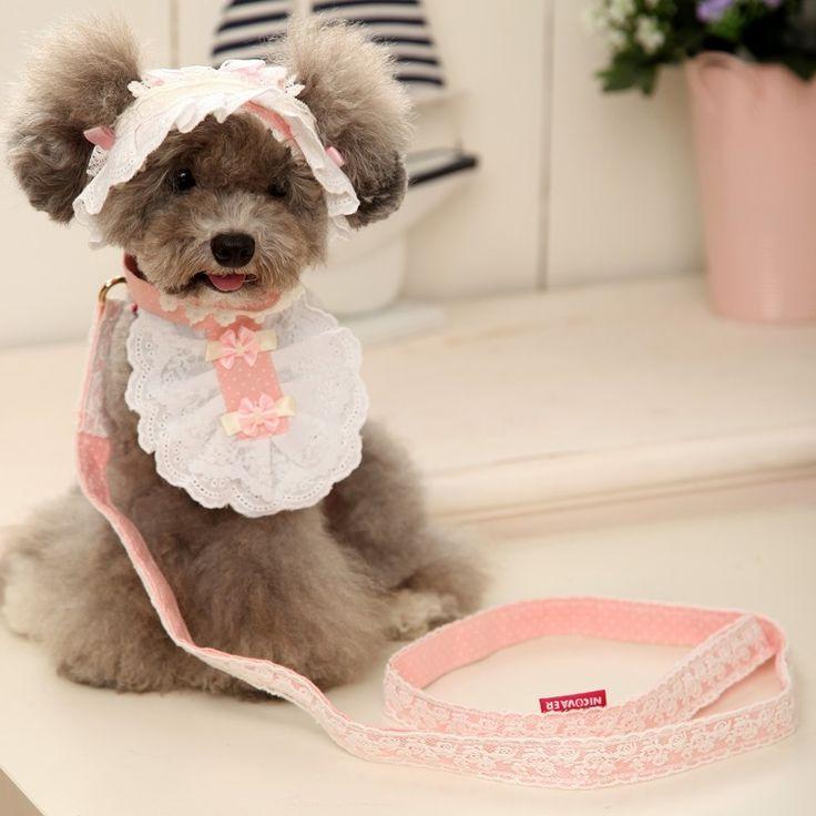 Nicovaer little cutie servant set in pink. Shop: http://www.petsionista.com/index.php/en/s/pet-accessories/accessories/nicovaer-little-cutie-servant-set-in-pink-detail