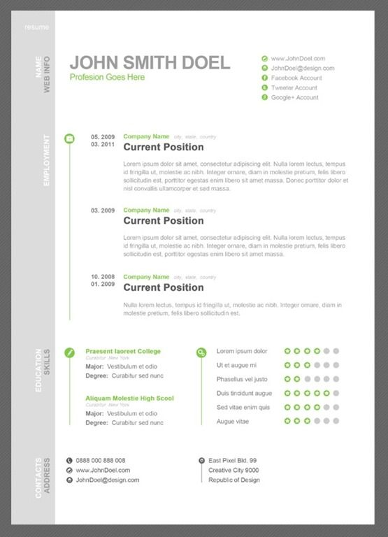 9 best CV images on Pinterest Resume layout, Resume cv and - contemporary resume format