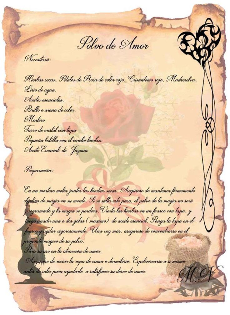 Trastos de Bruja: Polvo de Amor
