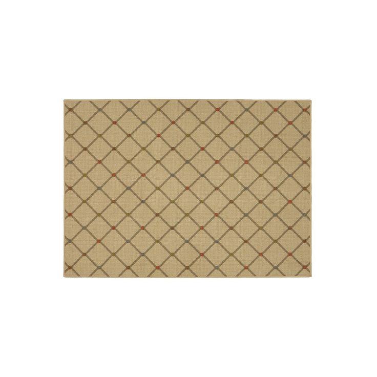 Mohawk® Home Channel Block Lattice Rug, Multicolor, Durable