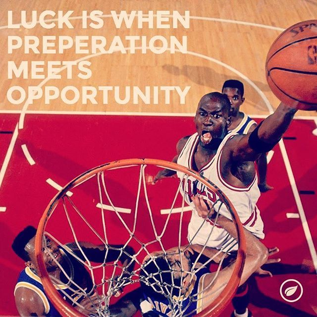 Luck is when preparation meets opportunity #success #startup #motivation