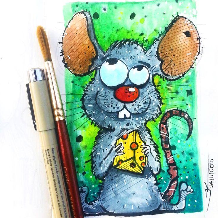 rat character design, jishnu k on ArtStation at https://www.artstation.com/artwork/DORzn