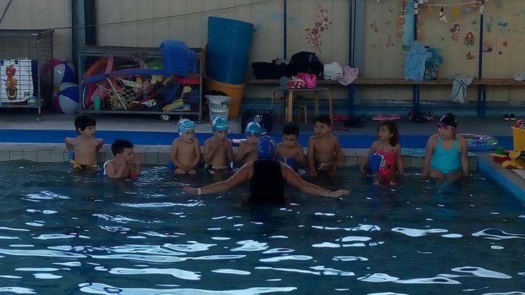 Προπόνηση μικρή πισίνα με Olga Sulu Nafsithoos