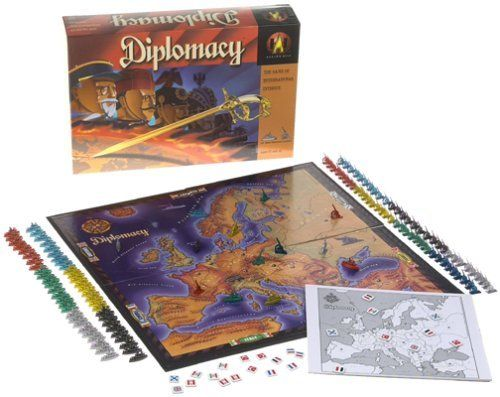 Diplomacy Board Game:Amazon:Toys & Games