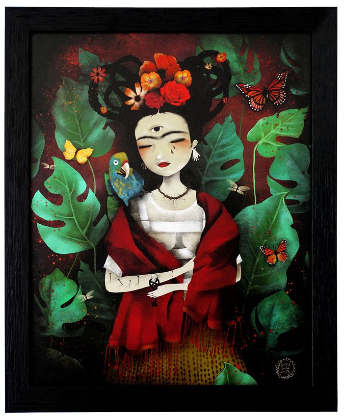 """My Own Reality""~ Frida Kahlo by Anne-Julie Aubry © 2014"