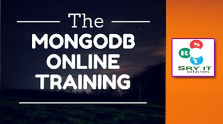 MongoDB Online Training---SRY IT Solutions