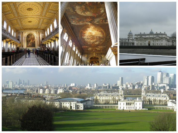 Maritime Museum London and the view from Greenwich