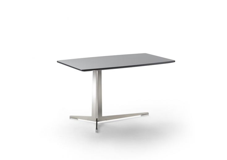 FLEXFORM FLY small #table with metal frame #designed by Antonio Citterio