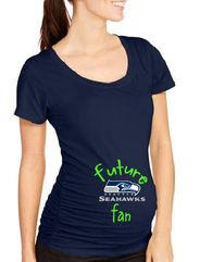 Future Seattle Seahawk Fan -Maternity Tshirt - Future Fan Maternity Shirt - Seahawks Maternity Shirt - AmaysingGifts.com