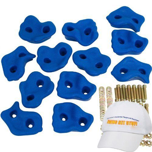 Textured Rock Holds Set of 12, Blue by Swing Set Stuff Inc., http://www.amazon.com/dp/B001VTDJCK/ref=cm_sw_r_pi_dp_K2mdrb12HJD1T