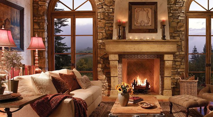 Give your living room #fireplace a facelift