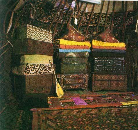 Казахская юрта, казахов, убранство, жилище, древняя, история, фото, картинки, первая, когда, где, кто