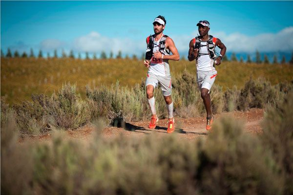 Kane Reilly and Nicholas Rupanga of Team Salomon take Stage One Kane Reilly and Nicholas Rupanga of Team Salomon set a blistering pace during Stage One of the much anticipated AfricanX Trail
