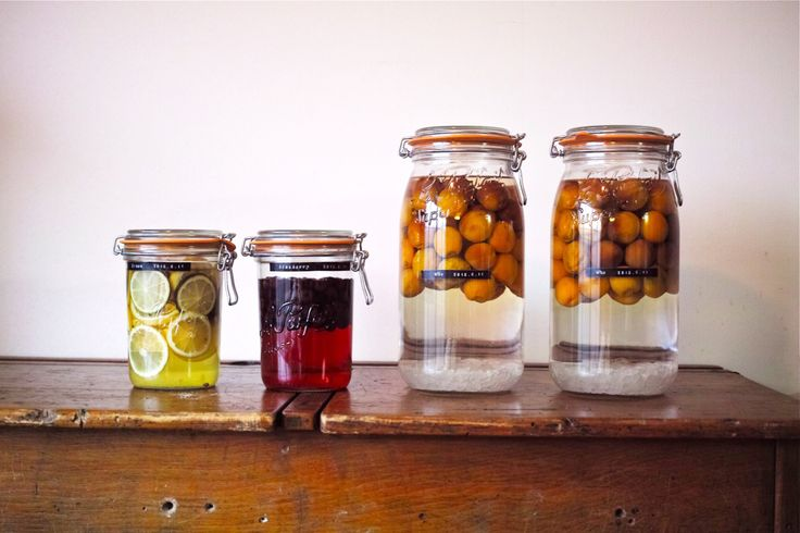 6月は果実酒の季節!メイソンジャーで果実酒はじめませんか?