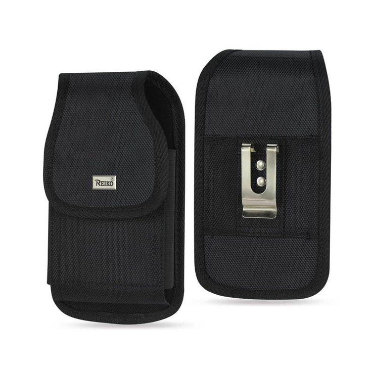 Reiko Vertical Rugged Pouch Samsung Galaxy Note 3/ N900A/ N900V/ N9000/N9002/ N9005/ N900P Plus Black Cell Phone With Cover