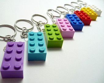 LEGO Movie LEGO Friends Key Chain Craft Kit LEGO by minimecrafts