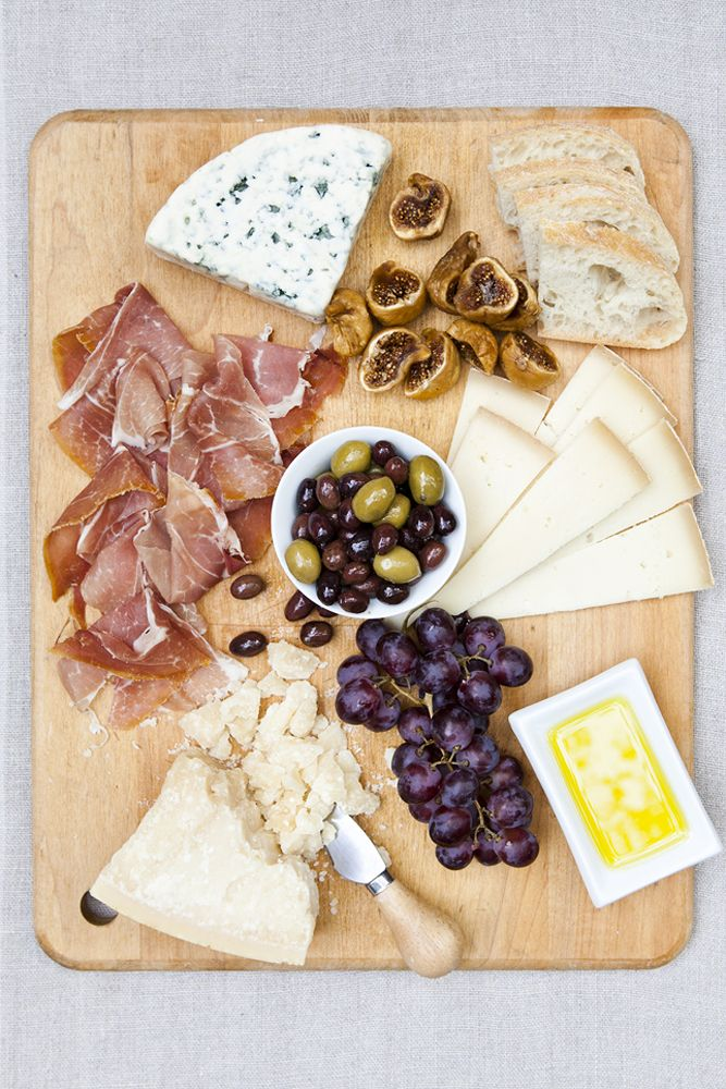 After a long day of sightseeing, retreating to your villa for a light dinner of local cheeses, cured meats, bread, olives, and fruit is simply the best.