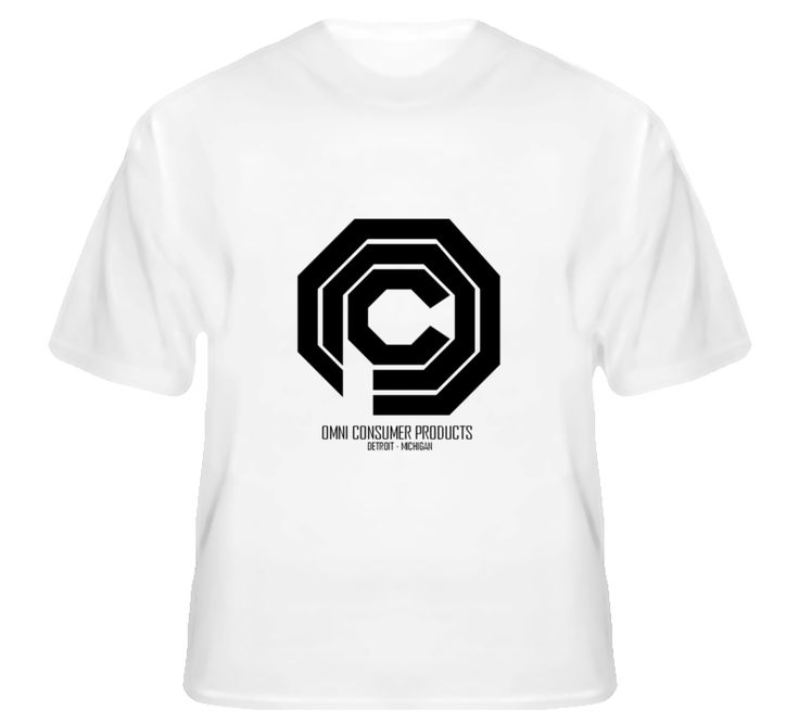 OMNI Consumer Products - Robocop Inspired T Shirt