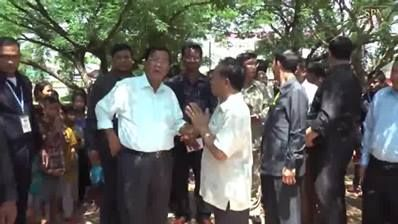 Replay : Samdech Techo Hun Sen Visited Balang Primary School