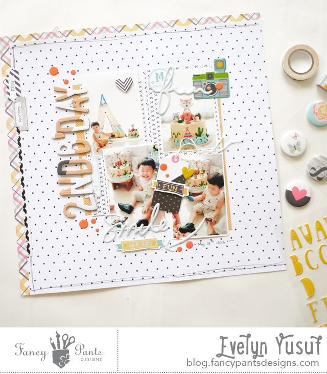 2nd b'day full layout cover by evelynpy