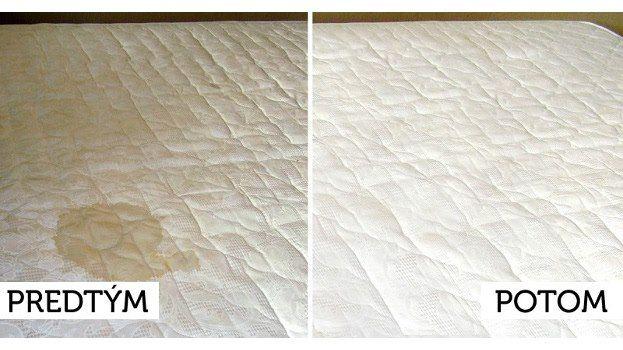 Udržať čistotu matracov nie je vôbec jednoduché. Už sme písali onápadoch, ako matrace účinne vydezinfikovať azbaviť roztočov bez chemikálií. Ako však postupovať vprípade, keď chceme znašich matracov odstrániť odolné škvrny?  Matrace nepatria medzi najlacnejšie vybavenie našich …
