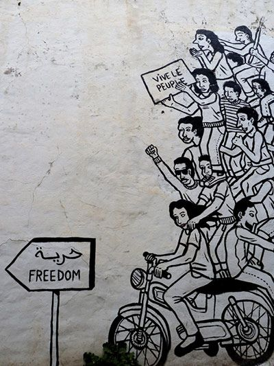 political graffiti paris in the Graffiti and the poetics of politics in rosas's argentina  and the proliferation of political graffiti during the second half of the  paris: la fabrique.