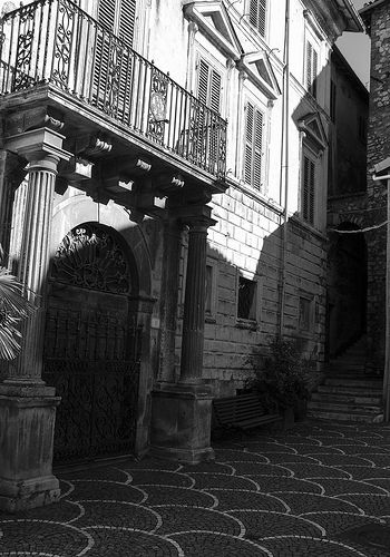 Old historic center in Fiuggi is fantastic.